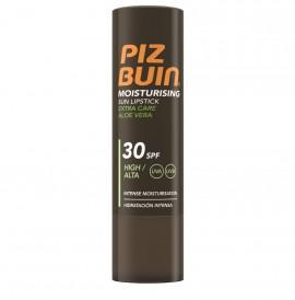 Piz Buin Lipstick Moisturising Extra Care Aloe Vera SPF30 Αντηλιακό Στικ Χειλιών Υψηλής Προστασίας 4,9gr
