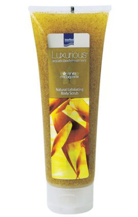 INTERMED Luxurious Natural Exfoliating Body Scrub Vanilla 250ml