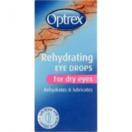 OPTREX Ενυδατικές Οφθαλμικές Σταγόνες για ξηρά & ερεθισμένα μάτια 10ml