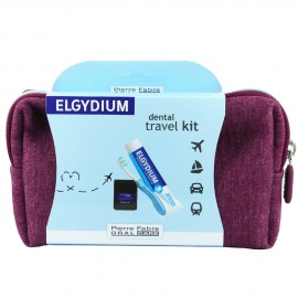 ELGYDIUM Dental Travel Kit Bordeaux 1τμχ
