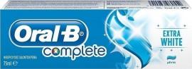 Oral-B Οδοντόκρεμα Complete Extra White 75ml