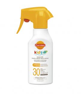 Carroten Kids Suncare Spray Face & Body Milk Spf30 200ml