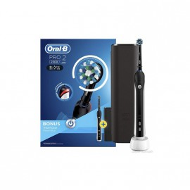Oral-B Pro 2 2500 Black Edition με Δώρο Θήκη Ταξιδίου 1τμχ