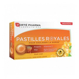 Forte Pharma Pastiles Royales με Πρόπολη για τον Πονόλαιμο με Γεύση Μέλι 24τμχ