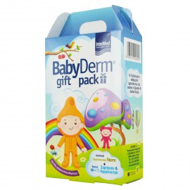 Intermed Babyderm Gift Pack Απαλό 2 σε 1 Σαμπουάν & Αφρόλουτρο 300ml + Protective Paste 0-6 Ετών 125ml