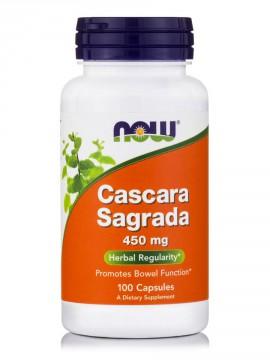 Now Foods Cascara Sagrada 450mg 100 Veget.caps