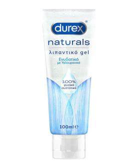 Durex Naturals Ενυδατικό Λιπαντικό Gel με Υαλουρονικό με Φυσικά Συστατικά 100ml