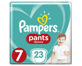 Pampers Pants No 7 (17+ Kg) 23 Πάνες Βρακάκι