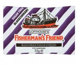 Fishermans Friend Καραμέλες με Γεύση Βατόμουρο Sugar free 25gr