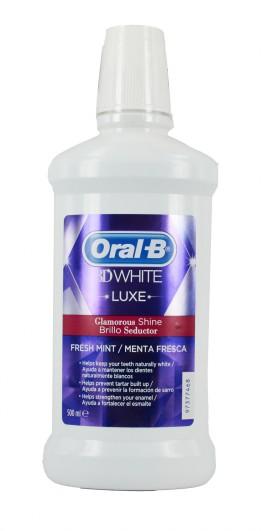 ORAL-B 3D WHITE LUXE Στοματικό Διάλυμα 500ml