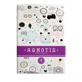 Agnotis Βρεφικές Πάνες No 4 (7-18 Kg) 44τμx