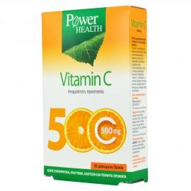 Power Health Vitamin C 500mg, Ανοσοποιητικό & Ενέργεια, 36 Μασώμενα Δισκία