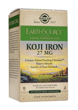 Solgar Earth Source Koji Iron 27mg 30 veget. caps
