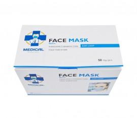 Μάσκα Προσώπου Χειρουργική 3ply 50τμχ