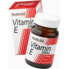 HEALTH AID VITAMIN E 200IU NATURAL VEGETARIAN CAPSULES 60S