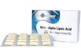 Viogenesis R(+) - ALPHA LIPOIC ACID 60caps