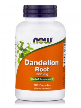 Now Foods Dandelion Root 500mg 100caps