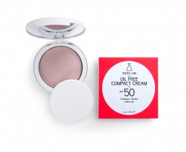 Youth Lab Oil Free Compact Cream Spf50 Medium Color 10gr