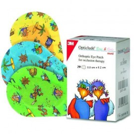 3M Opticlude Mini Boys and Girls Eye Patches 5.0cm x 6.2cm 20τμχ