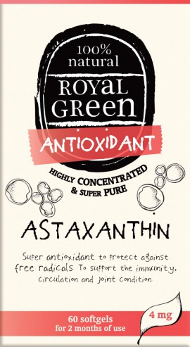 AM HEALTH ROYAL GREEN ASTAXANTHIN 60CAPS