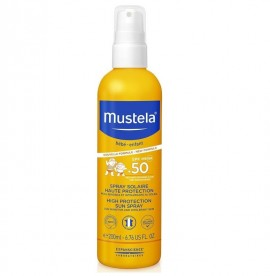 Mustela Bebe Very High Protection Sun Spray SPF50+ 200ml