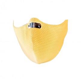 RespiShield Μάσκα γενικής προστασίας ΡΜ2.5 - PM10 Medium Κίτρινη 1τμχ