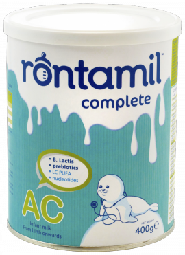 RONTAMIL Complete AC  Γάλα για αντιμετώπιση των κολικών 400gr