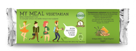 Power Health My Meal Vegeterian Μπάρα Υποκατάστατο Γεύματος Μέλι - Ξηροί Καρποί 56gr 1τμχ.