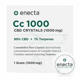 Enecta Cc1000 - CBD Crystals 1gr