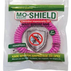 Mo-Shield Αντικουνουπικό Βραχιόλι Φούξια 1τμχ