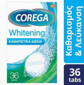 Corega Whitening 36 δισκία