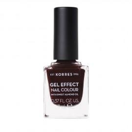 Korres Gel Effect Nail Colour No.54 Festive Red Βερνίκι Νυχιών, 11ml