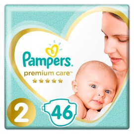 Pampers Premium Care Πάνες Μέγεθος No2 (4-8Κg) 46 Πάνες