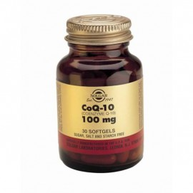 SOLGAR COENZYME Q10 100MG 30VCAP