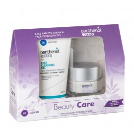 Panthenol Extra Set Face & Eye Cream 50ml & Face Cleansing Gel 150ml
