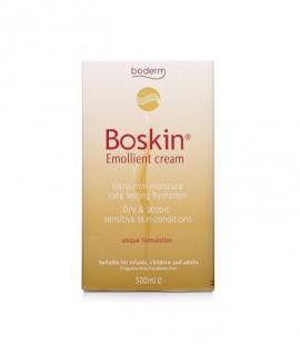 Boderm Boskin Emolient Cream Μαλακτική Κρέμα Σώματος για την Αντιμετώπιση της Έντονης Ξηροδερμίας 500ml