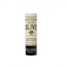 Korres Pure Greek Olive Lipbalm Baume Levres SPF20 5ml