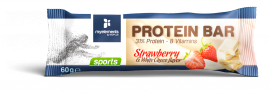My Elements Protein bar strawberry & white chocoflavor 60gr