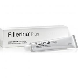 Fillerina Plus Night Cream Nourishing Grade 4 Κρέμα Νύχτας για Βαθιές Ρυτίδες 50ml