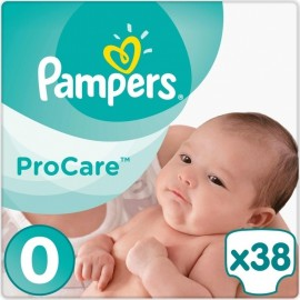 Pampers Procare Premium Protection No.0 (1-4kg) 38 Πάνες
