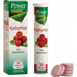 Power Health Cranberry 20eff. Tabs