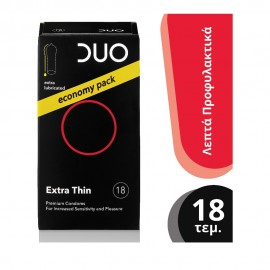 Duo Extra Thin 18τμχ