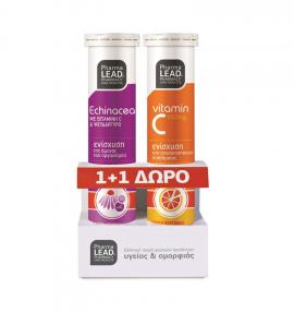 Pharmalead Echinacea 20eff.tabs + Δώρο Pharmalead Vitamin C 550mg 20eff.tabs