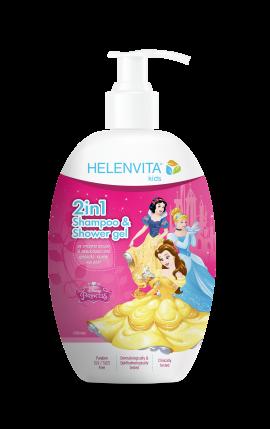 Helenvita Kids Princess 2 in 1 Shampoo & Shower Gel 500ml