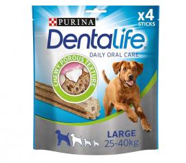 Purina Dentalife Oral Care Για Σκύλους Μεγάλου Μεγέθους (25-40 Kg) 4 Sticks 142gr