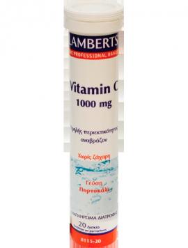 LAMBERTS VITAMIN C 1000MG 20EFF.TABS