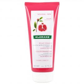 Klorane, Baume Apres-Shampooing A La Grenade, Μαλακτική Κρέμα Με Ρόδι, Βαμμένα Μαλλιά, 200ml
