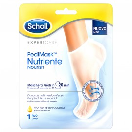 Scholl PediMask Nutriente Nourish Μάσκα Ποδιών με Λάδι Macadamia 1 ζευγάρι