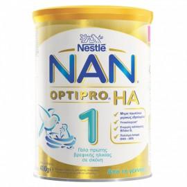 Nestle Nan Optipro HA 1 Αντιαλλεργικό Γάλα για Βρέφη από τη Γέννηση 400gr