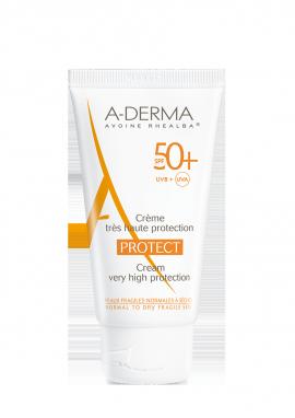 ADERMA PROTECT Crème visage SPF50+ 40ml